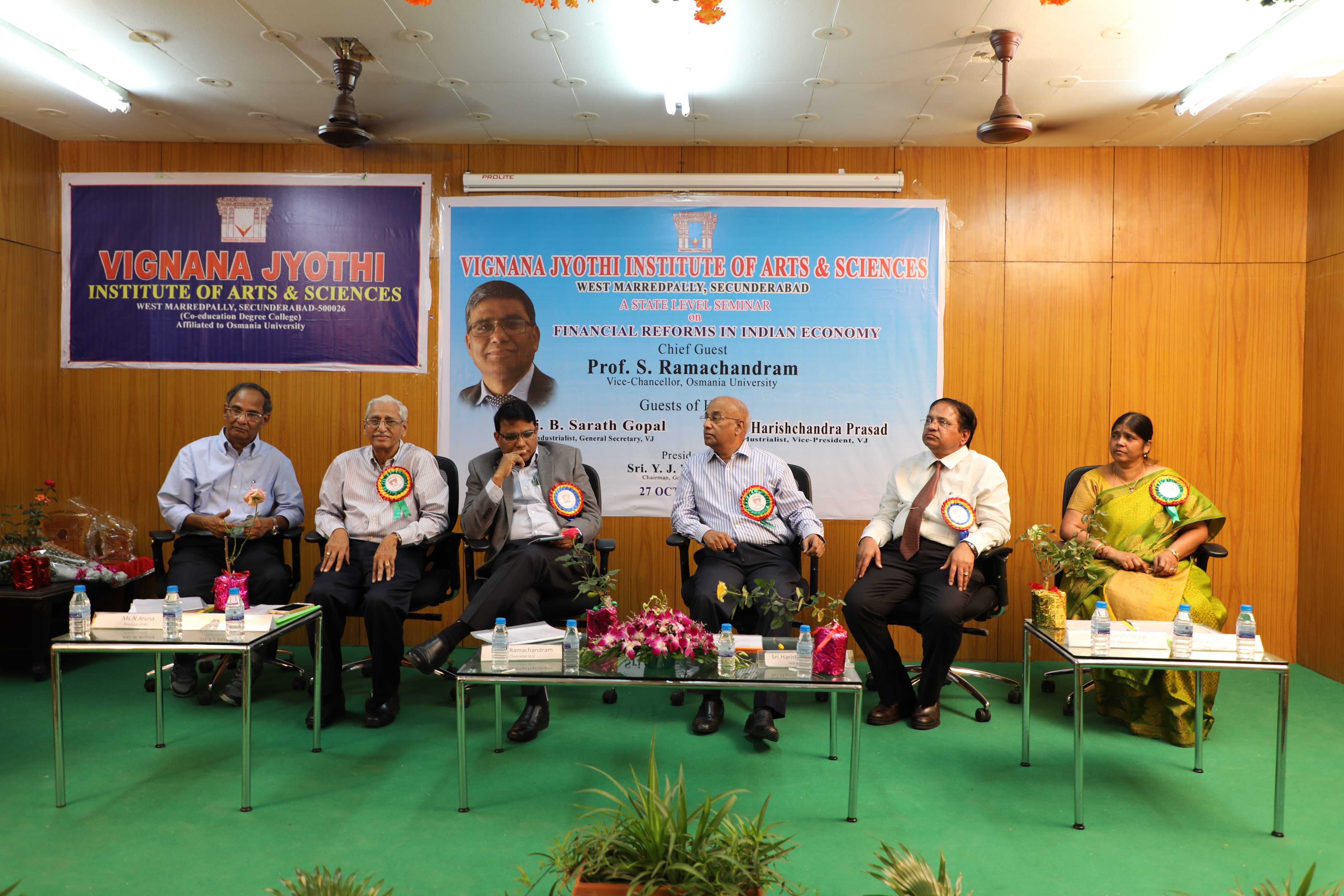 Chief Guest and Dignitaries