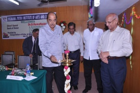 Introduction of B.Sc & BBA Course by Dr. D.Ramanaidu 2013.JPG