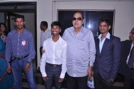 On Fresher's day with Dr. D. Ramanaidu2013 batch.JPG