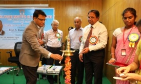 Chief Guest LIghting up the Lamp.JPG